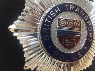British Transport Police Cap Badge