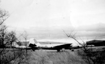 Fig 28 Photo 100 English Canberra T4 Defford RRE 2.2.57 Scrapped at RRE Pershore 1973