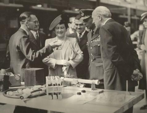 George V1 at Malvern 1944