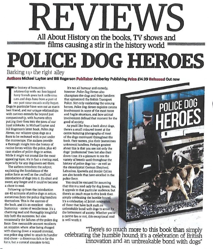 Police Dog Heroes -Scan