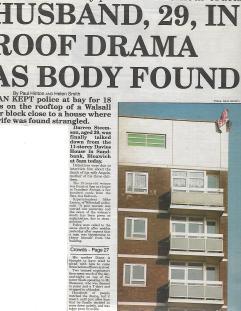 walsall's front line - davies house murder