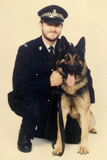 Walsall's Front Line - PC Richards with PD Max
