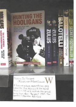 Hunting The Hooligans - Waterstone Bookshelf