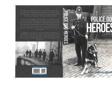 Police Dog Heroes - Original Cover Picture Scan